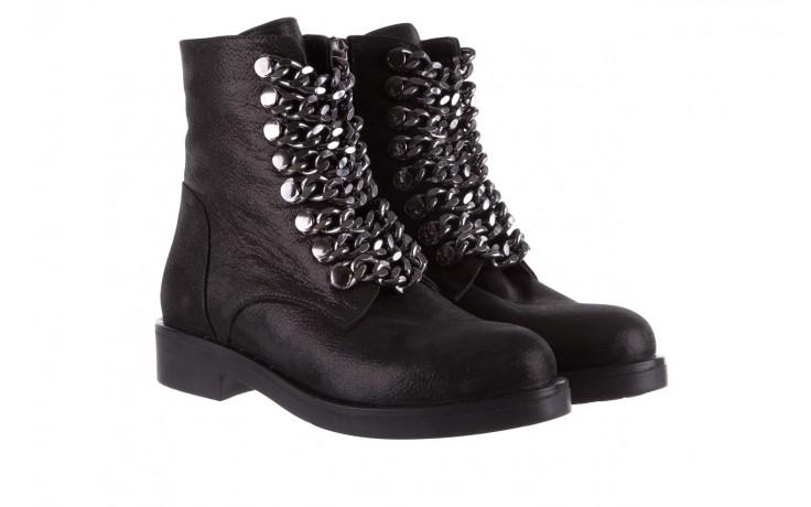 Trzewiki bayla-112 0460-802 czarne, skóra naturalna - trzewiki - buty damskie - kobieta 1