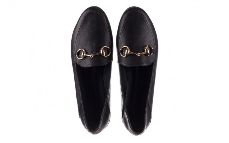Półbuty bayla-161 138 80127 black, czarny, skóra naturalna - półbuty - buty damskie - kobieta 4