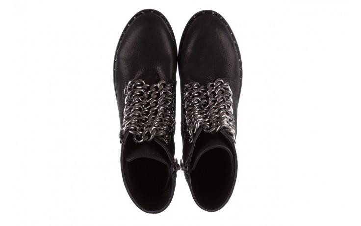 Trzewiki bayla-112 0460-802 czarne, skóra naturalna - trzewiki - buty damskie - kobieta 4