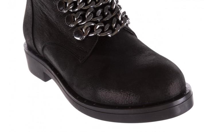 Trzewiki bayla-112 0460-802 czarne, skóra naturalna - trzewiki - buty damskie - kobieta 6