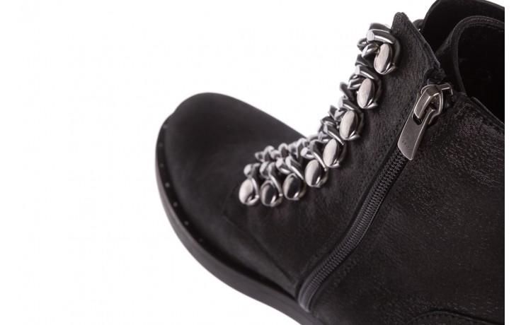 Trzewiki bayla-112 0460-802 czarne, skóra naturalna - trzewiki - buty damskie - kobieta 7