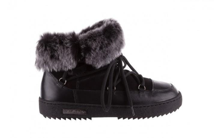 Śniegowce bayla-112 0575-9013s czarne śniegowce, skóra naturalna  - bayla - nasze marki