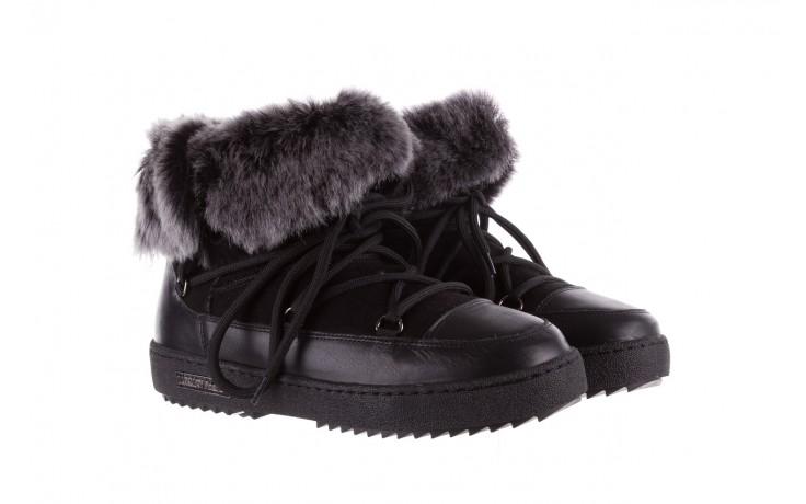 Śniegowce bayla-112 0575-9013s czarne śniegowce, skóra naturalna  - bayla - nasze marki 1