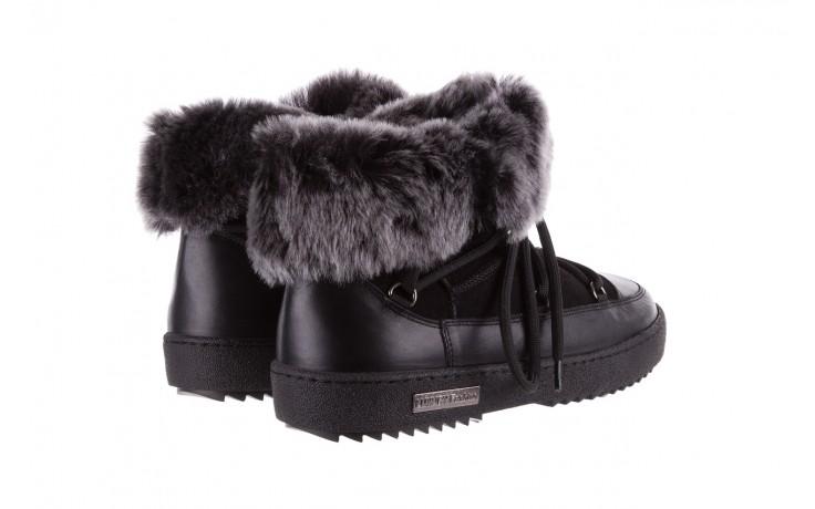 Śniegowce bayla-112 0575-9013s czarne śniegowce, skóra naturalna  - bayla - nasze marki 3