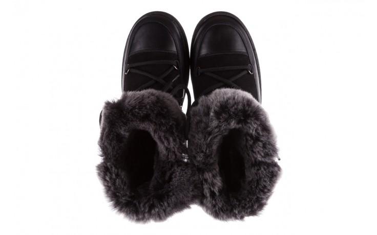 Śniegowce bayla-112 0575-9013s czarne śniegowce, skóra naturalna  - bayla - nasze marki 4