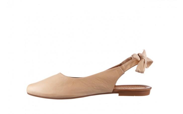 Sandały bayla-161 066 504 277 beige, beż, skóra naturalna  - płaskie - sandały - buty damskie - kobieta 2