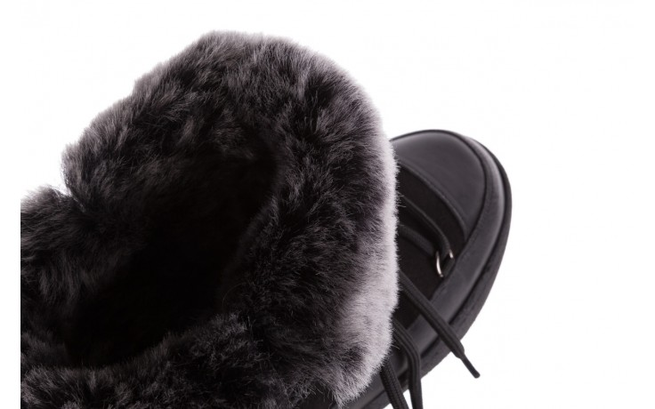 Śniegowce bayla-112 0575-9013s czarne śniegowce, skóra naturalna  - bayla - nasze marki 6