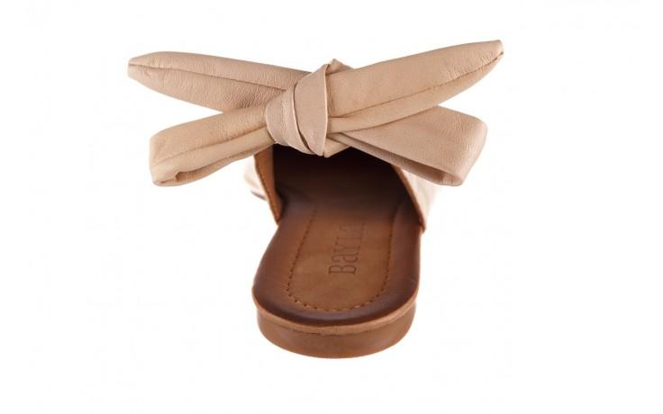Sandały bayla-161 066 504 277 beige, beż, skóra naturalna  - płaskie - sandały - buty damskie - kobieta 7