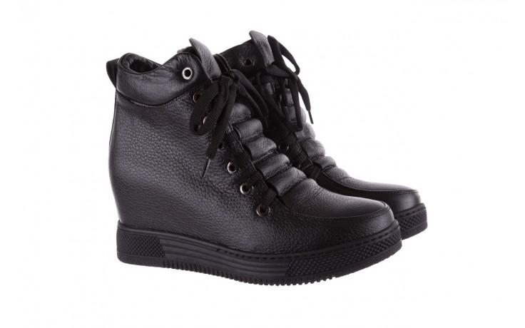 Sneakresy bayla-112 0235-io-20 czarne sneakersy, skóra naturalna  - bayla - nasze marki 1