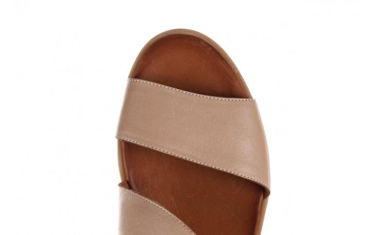 Sandały bayla-161 061 1605 mouton tan, beż, skóra naturalna - sandały - dla niej  - sale 5