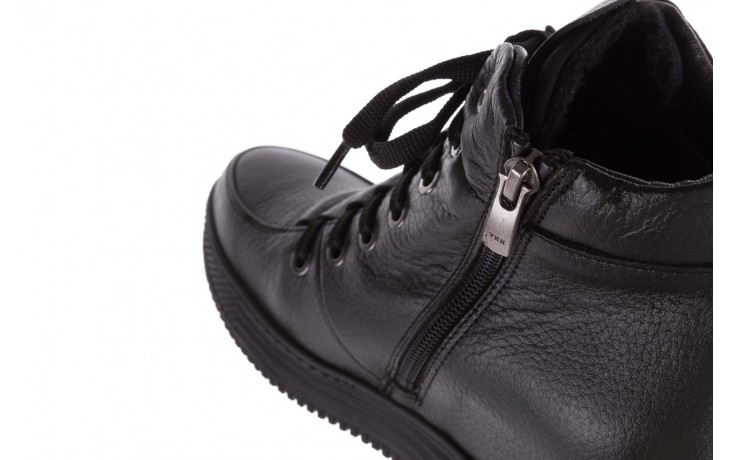 Sneakresy bayla-112 0235-io-20 czarne sneakersy, skóra naturalna  - bayla - nasze marki 6