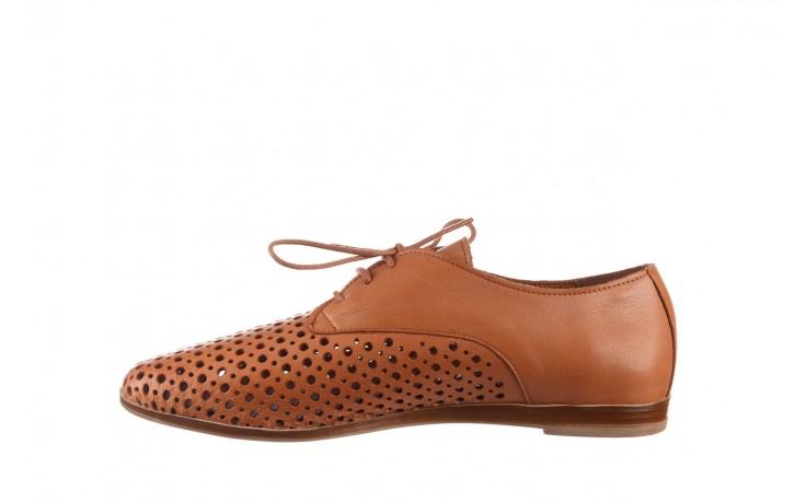 Półbuty bayla-161 138 80129 tan, brąz, skóra naturalna - sznurowane - półbuty - buty damskie - kobieta 2