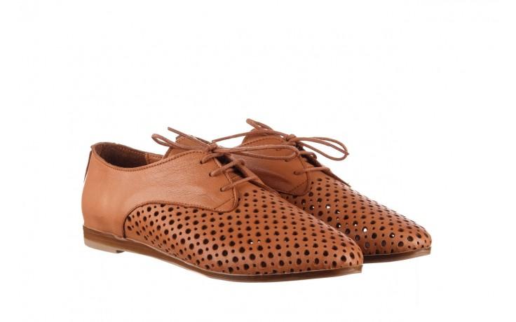 Półbuty bayla-161 138 80129 tan, brąz, skóra naturalna - sznurowane - półbuty - buty damskie - kobieta 1
