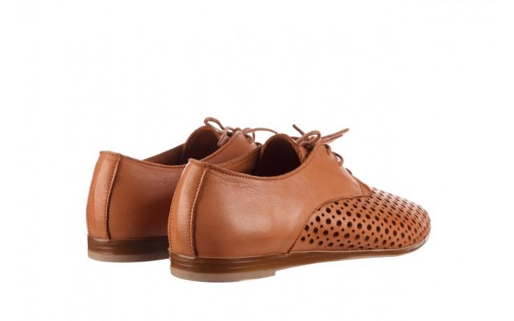 Półbuty bayla-161 138 80129 tan, brąz, skóra naturalna - sznurowane - półbuty - buty damskie - kobieta 3
