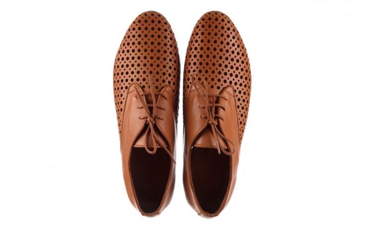 Półbuty bayla-161 138 80129 tan, brąz, skóra naturalna - sznurowane - półbuty - buty damskie - kobieta 4