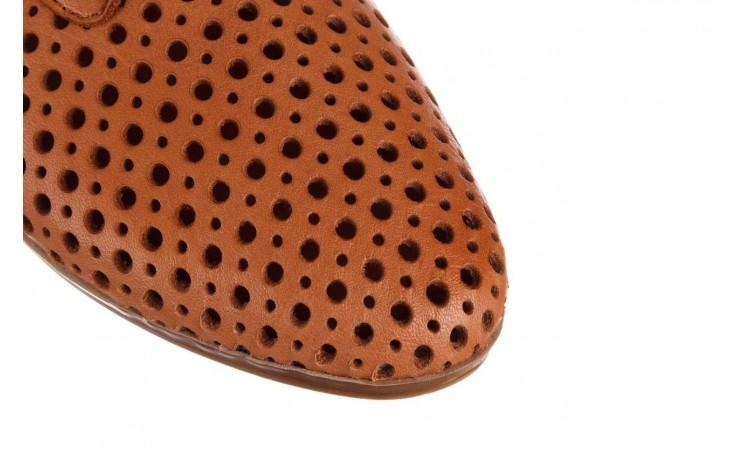 Półbuty bayla-161 138 80129 tan, brąz, skóra naturalna - sznurowane - półbuty - buty damskie - kobieta 6