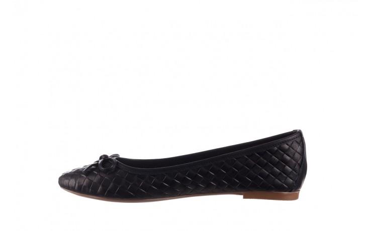 Baleriny bayla-161 093 388 6048 black 161145, czarny, skóra naturalna  - baleriny - buty damskie - kobieta 2