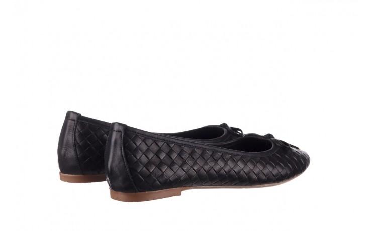 Baleriny bayla-161 093 388 6048 black 161145, czarny, skóra naturalna  - baleriny - buty damskie - kobieta 3