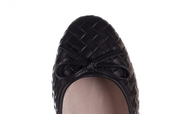 Baleriny bayla-161 093 388 6048 black 161145, czarny, skóra naturalna  - baleriny - buty damskie - kobieta 7