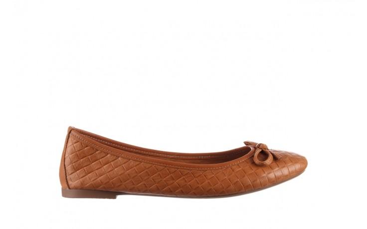Baleriny bayla-161 093 388 6048 tan 161147, brąz, skóra naturalna  - skórzane - baleriny - buty damskie - kobieta