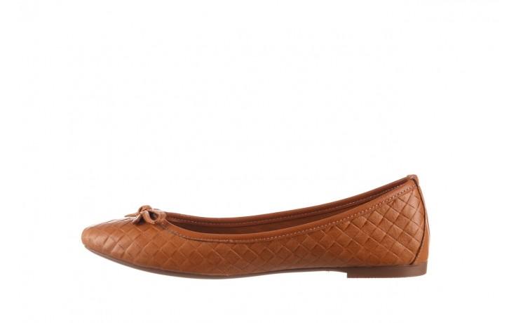 Baleriny bayla-161 093 388 6048 tan 161147, brąz, skóra naturalna  - skórzane - baleriny - buty damskie - kobieta 2