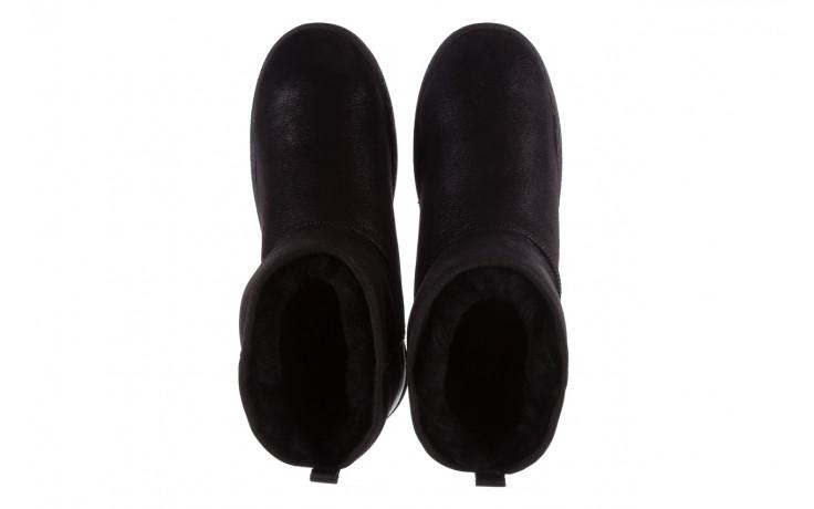 Śniegowce bayla-112 0575-9015d czarne, skóra naturalna 4
