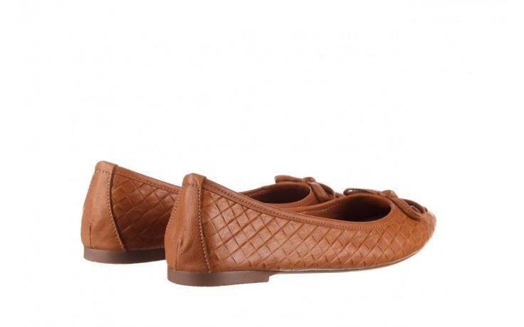 Baleriny bayla-161 093 388 6048 tan 161147, brąz, skóra naturalna  - skórzane - baleriny - buty damskie - kobieta 3
