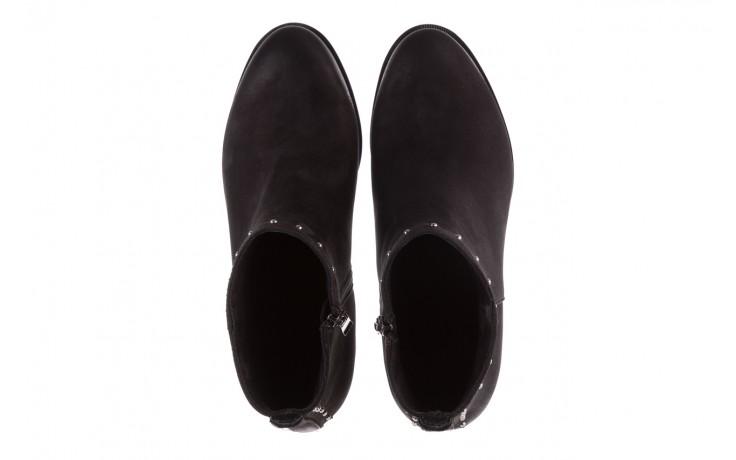 Botki bayla-170 2150 czarne botki, skóra naturalna  - bayla - nasze marki 4