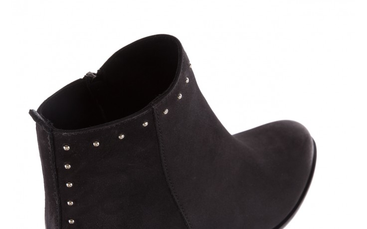 Botki bayla-170 2150 czarne botki, skóra naturalna  - bayla - nasze marki 5