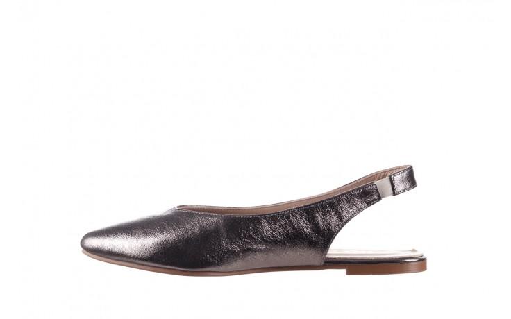 Sandały bayla-161 093 388 4034 platin, srebrny, skóra naturalna - płaskie - sandały - buty damskie - kobieta 2