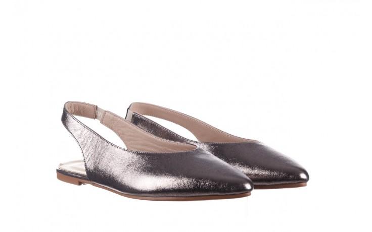 Sandały bayla-161 093 388 4034 platin, srebrny, skóra naturalna - płaskie - sandały - buty damskie - kobieta 1