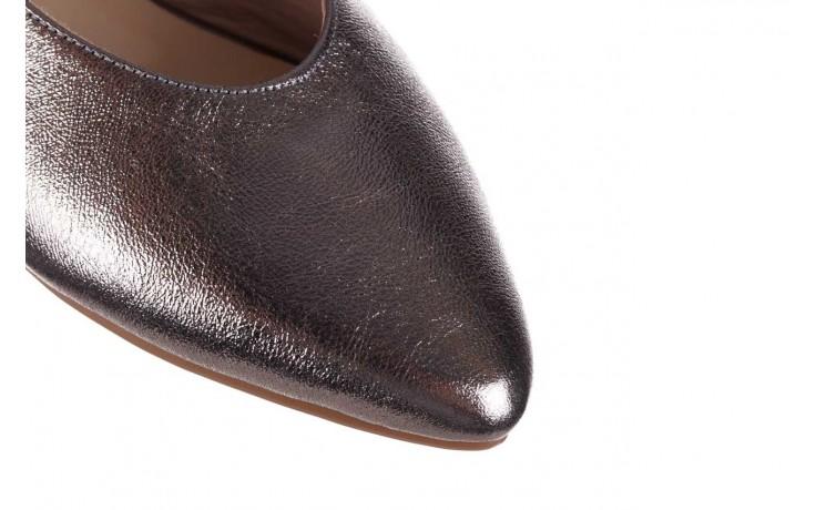 Sandały bayla-161 093 388 4034 platin, srebrny, skóra naturalna - płaskie - sandały - buty damskie - kobieta 5