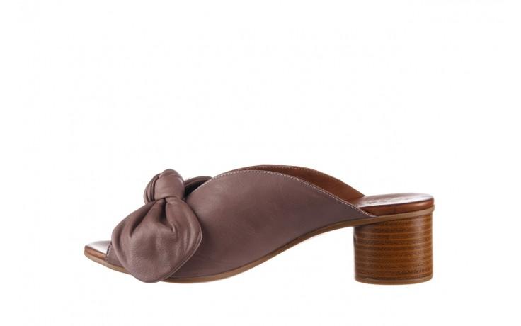 Klapki bayla-161 061 1029 hat, beż, skóra naturalna  - bayla - nasze marki 2
