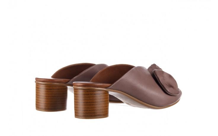 Klapki bayla-161 061 1029 hat, beż, skóra naturalna  - bayla - nasze marki 3