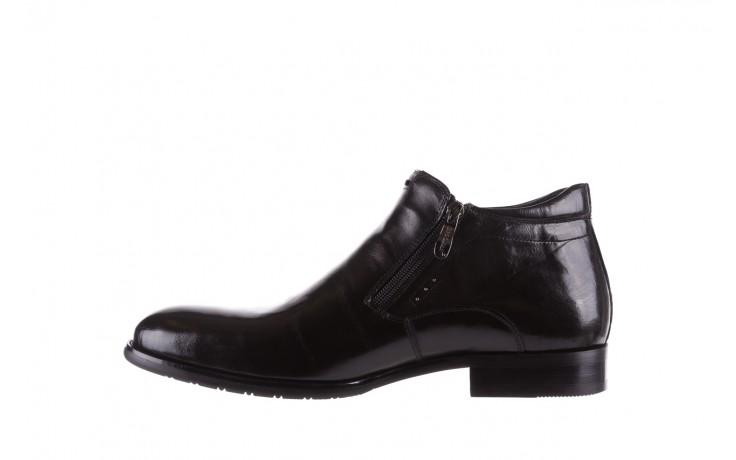 Półbuty brooman 7721b-712g183-r black, czarny, skóra naturalna  - bayla exclusive - trendy - mężczyzna 2