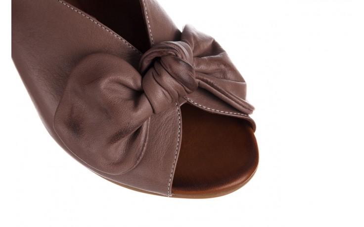 Klapki bayla-161 061 1029 hat, beż, skóra naturalna  - bayla - nasze marki 5