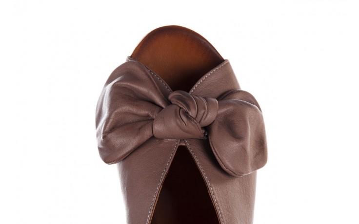 Klapki bayla-161 061 1029 hat, beż, skóra naturalna  - bayla - nasze marki 6