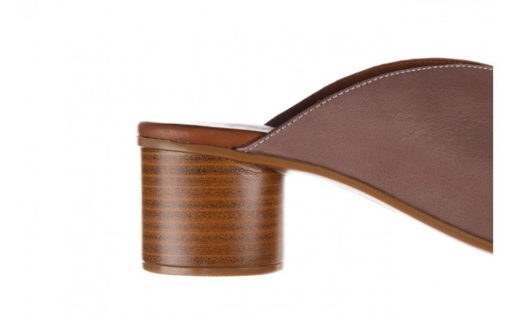 Klapki bayla-161 061 1029 hat, beż, skóra naturalna  - bayla - nasze marki 7