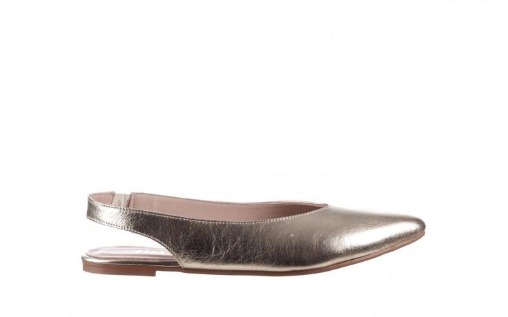Sandały bayla-161 093 388 4034 gold, złoty, skóra naturalna - sandały - buty damskie - kobieta