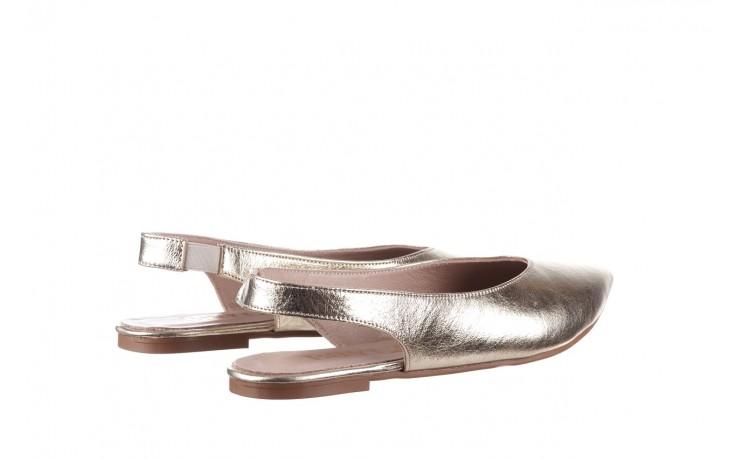 Sandały bayla-161 093 388 4034 gold, złoty, skóra naturalna - sandały - buty damskie - kobieta 3