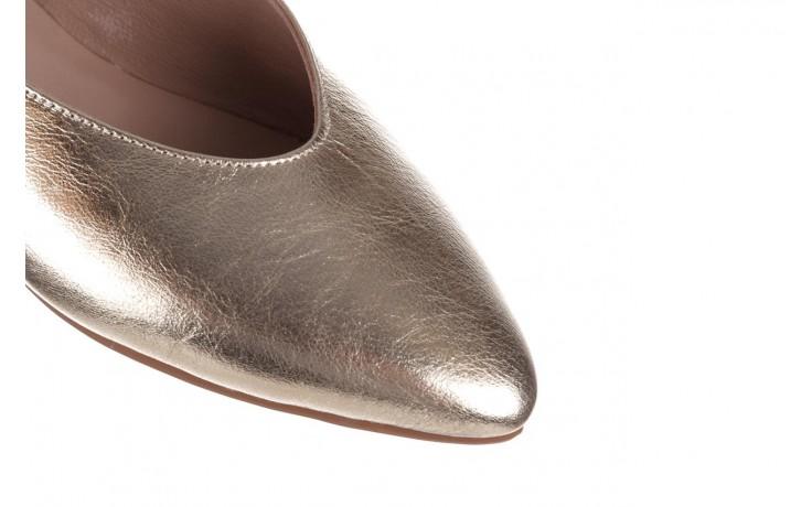 Sandały bayla-161 093 388 4034 gold, złoty, skóra naturalna - sandały - buty damskie - kobieta 5