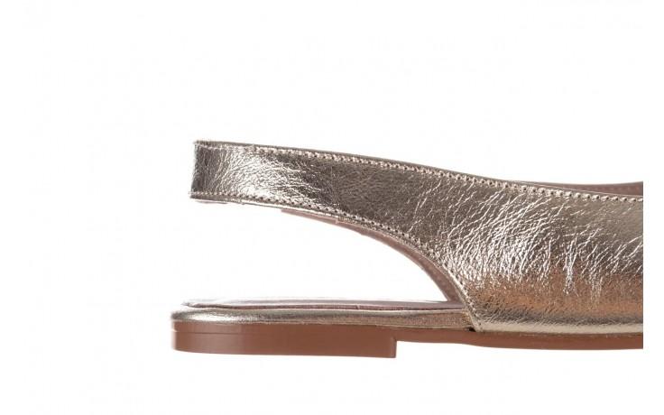 Sandały bayla-161 093 388 4034 gold, złoty, skóra naturalna - sandały - buty damskie - kobieta 6