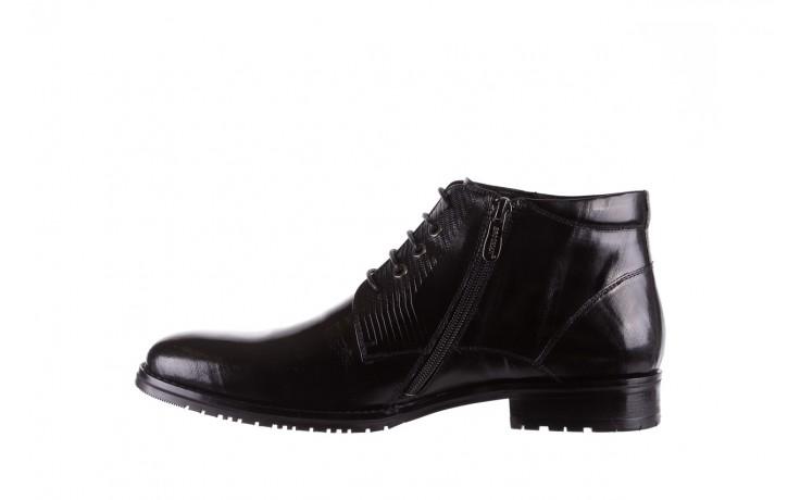 Półbuty brooman 768b-711g183-r black, czarny, skóra naturalna  - obuwie wizytowe - buty męskie - mężczyzna 2
