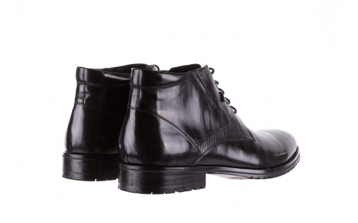Półbuty brooman 768b-711g183-r black, czarny, skóra naturalna  - brooman - nasze marki 3