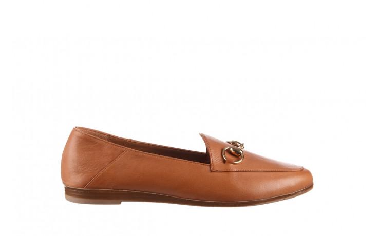Półbuty bayla-161 138 80127 tan 21 161226, brąz, skóra naturalna  - skórzane - półbuty - buty damskie - kobieta
