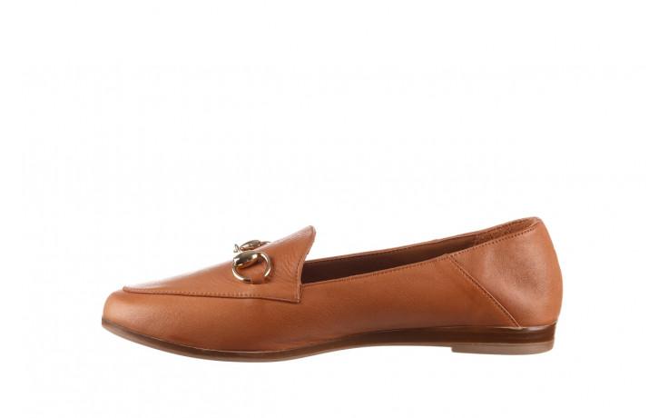 Półbuty bayla-161 138 80127 tan 21 161226, brąz, skóra naturalna  - skórzane - półbuty - buty damskie - kobieta 2
