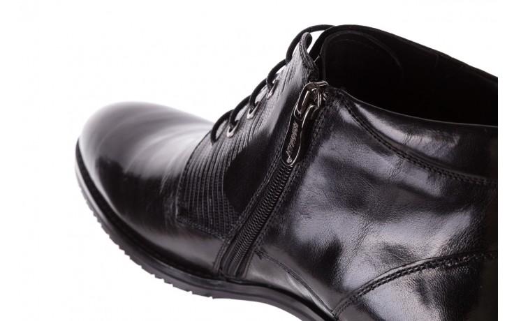 Półbuty brooman 768b-711g183-r black, czarny, skóra naturalna  - obuwie wizytowe - buty męskie - mężczyzna 6