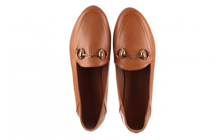 Półbuty bayla-161 138 80127 tan 21 161226, brąz, skóra naturalna  - skórzane - półbuty - buty damskie - kobieta 4