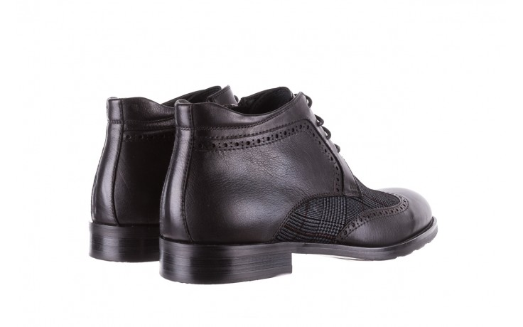 Półbuty brooman a2001-14-75-1-r black, czarny, skóra naturalna  - brooman - nasze marki 3