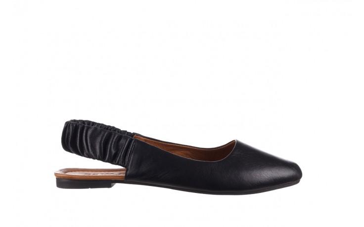 Sandały bayla-161 066 730 367 black, czarny, skóra naturalna  - sandały - buty damskie - kobieta